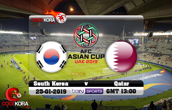 مشاهدة مباراة قطر وكوريا الجنوبية اليوم كأس آسيا 25-1-2019 علي بي أن ماكس