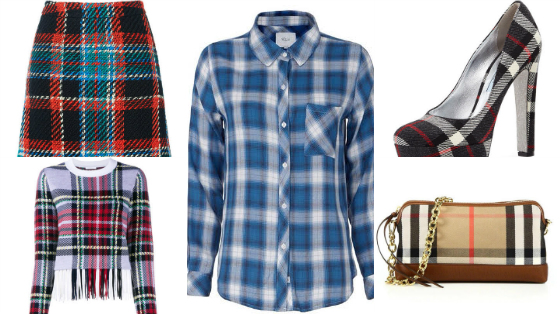 roupas xadrez