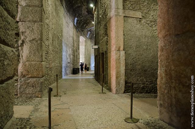 Anfiteatro romano Italia Verona viaje visita
