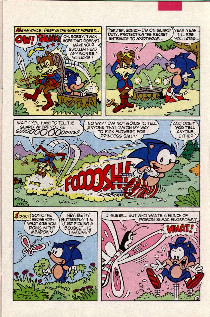 Read online Sonic The Hedgehog comic -  Issue #9 - 4