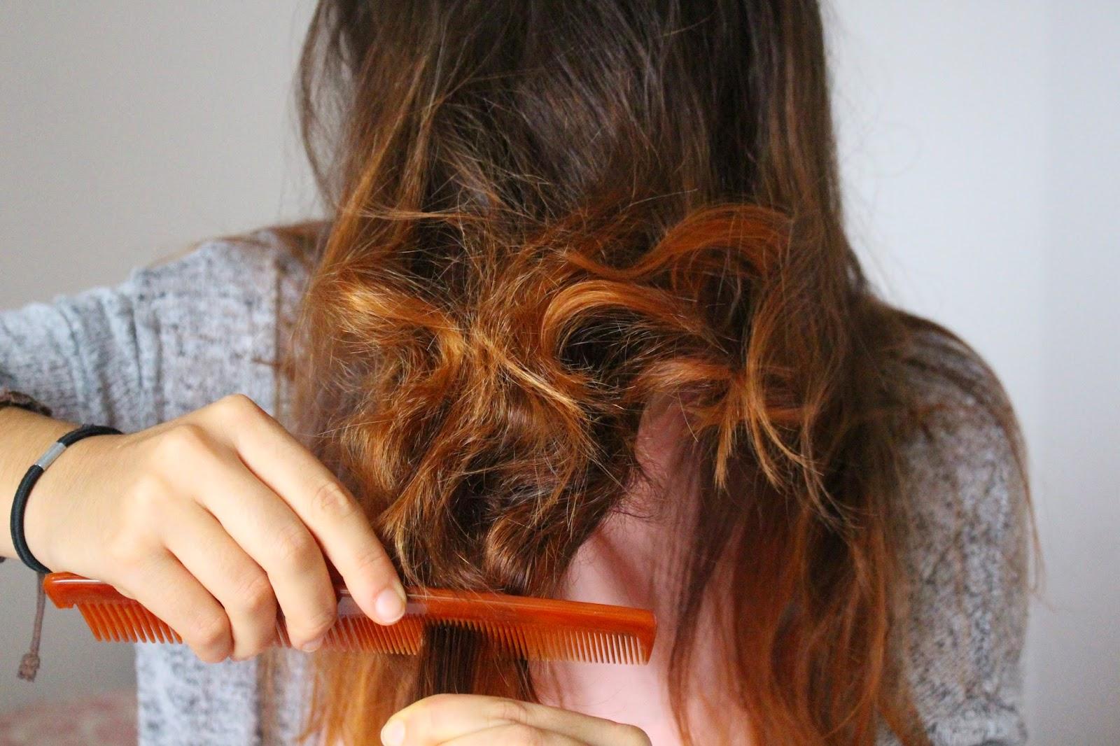 Teased Hair