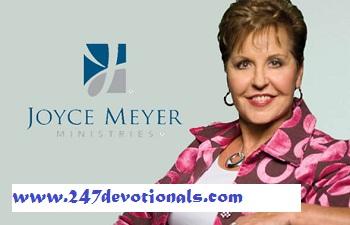 Daily Devo Joyce Meyer Ministry - OCTOBER 29, 2017 Take Off the Mask