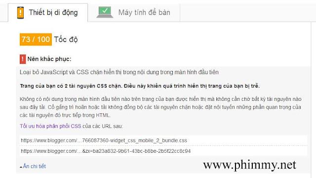 seo blogspot, Tăng tốc độ tải trang blogspot