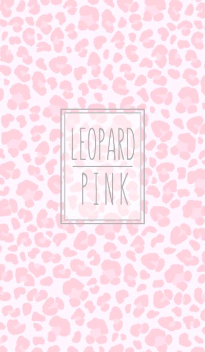 Leopard:pastel pink WV