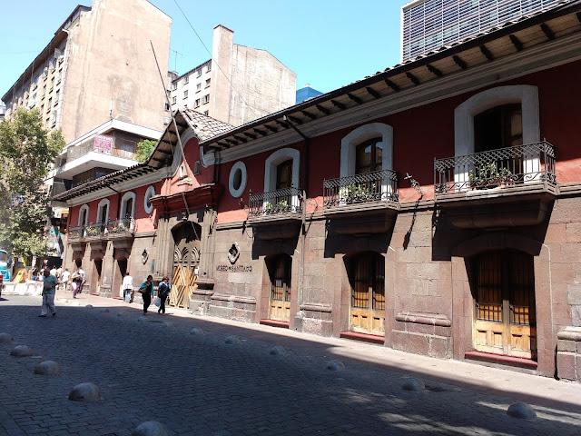 Casa Colorada, Santiago de Chile