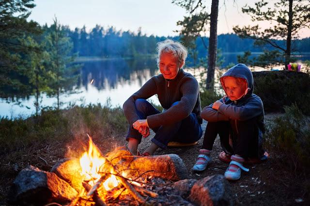 İsveç Kamp Ateşi