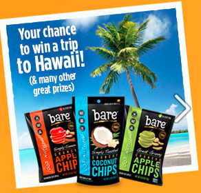 bare snacks sweet heat coconut chips