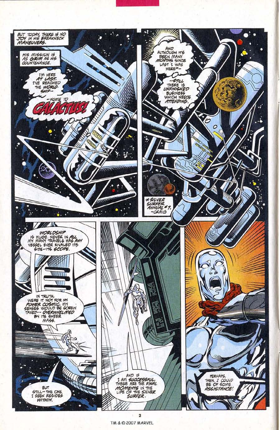 Read online Silver Surfer (1987) comic -  Issue #102 - 4