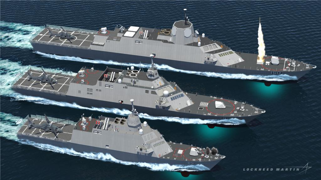 Proposed Designs Offered For The Philippine Navy Frigate Program