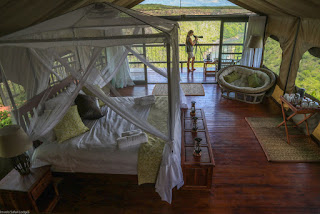 Inside a room at Little Gorges, Victoria Falls, Zimbabwe