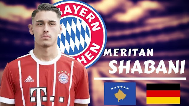 Meritan Shabani signed up to stay in Bayern until 2020