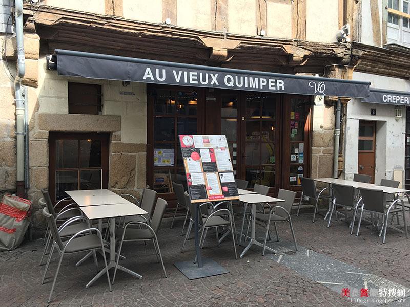 [法國] 南特/老城區【Au Vieux Quimper】法國西部地區特有美食 吸睛又美味的餐點