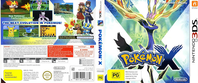 Pokemon X 3DS Rom (Citra Decrypted)
