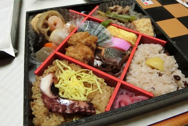 新大阪駅の旅のにぎわい御膳