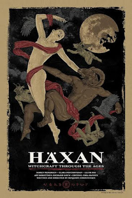 Haxan: Witchcraft Through The Ages Regular Edition Screen Print by Timothy Pittides & Grey Matter Art