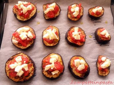 Pizza di melanzane - Ricetta facile con le melanzane