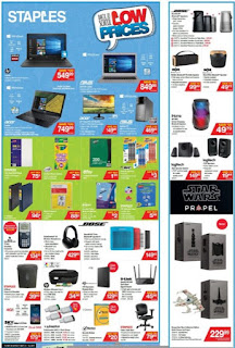 Staples Flyer Weekly - Back to School Low Prices valid September 6 - 12, 2017