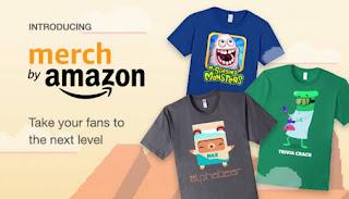 Earn money online on Amazon Merch