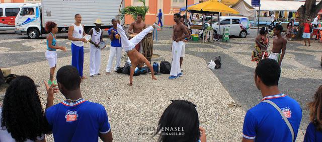 Capoiera,  Salvador de Bahia, Brazilia