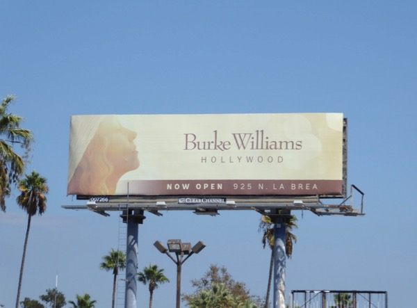 Burke Williams Hollywood spa billboard