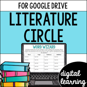 Online Literature circle activities