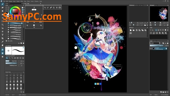 OpenCanvas 7 0 23 Free Download Full Version | SamyPC Com