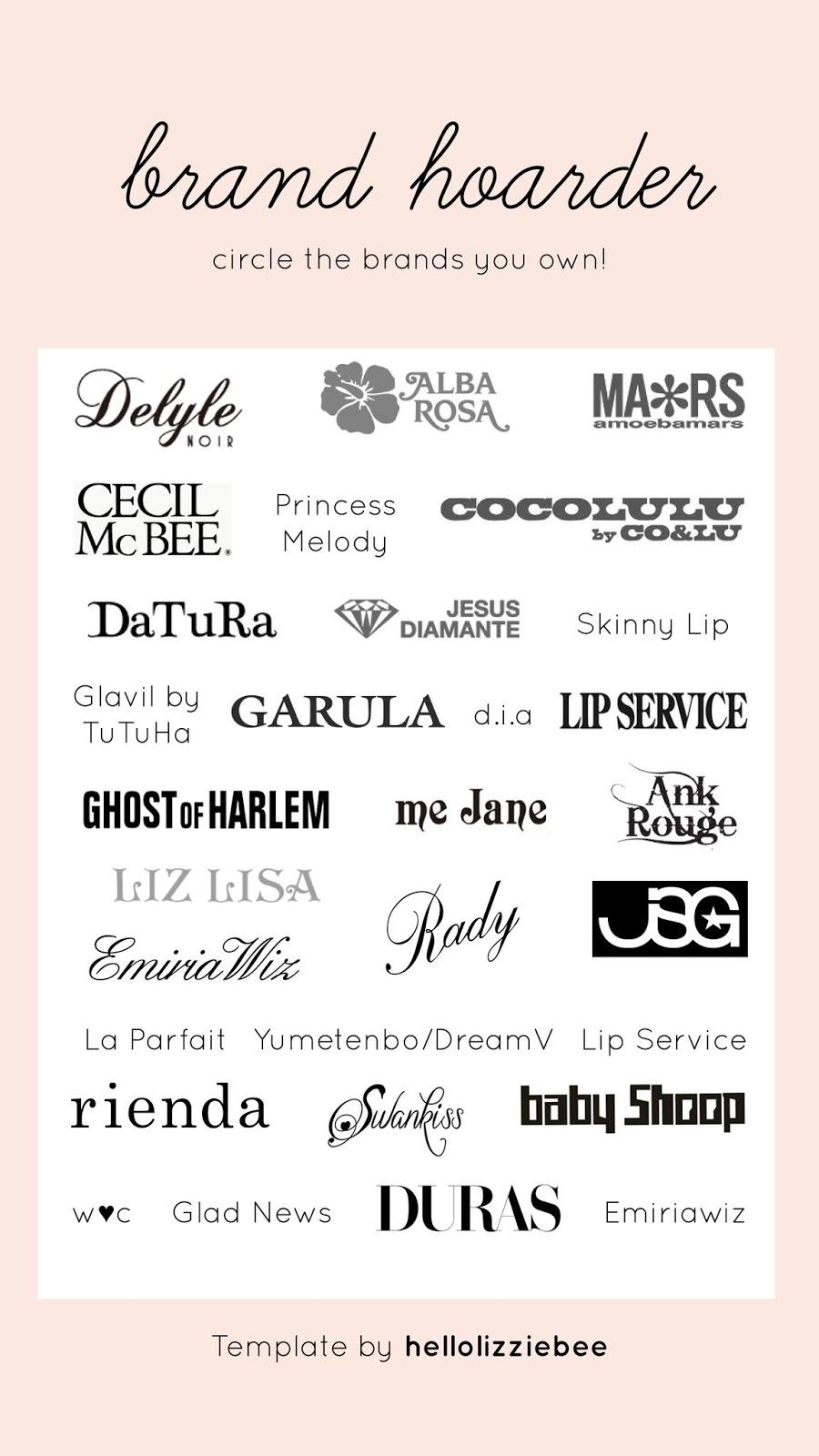 gyaru instagram stories template - brands