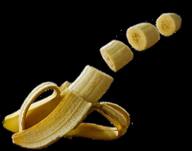 Si tu batidora no es muy potente, evita utilizar los plátanos congelados