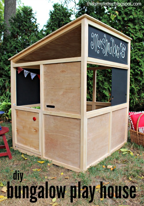 diy kids bunaglow play house