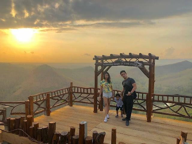 Tempat wisata Bukit Panguk Kediwung Imogiri Bantul Yogyakarta