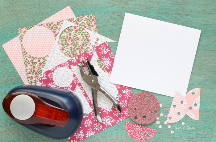 "Make a handmade ""Thanks a Hole Punch"" Card 