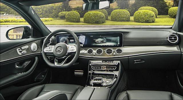 Nội thất Mercedes E350 AMG 2019 được thiết kế thể thao nhưng không kém phần sang trọng và đẳng cấp