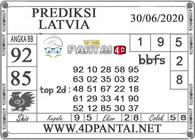 PREDIKSI TOGEL LATVIA PANTAI4D 30 JUNI 2020
