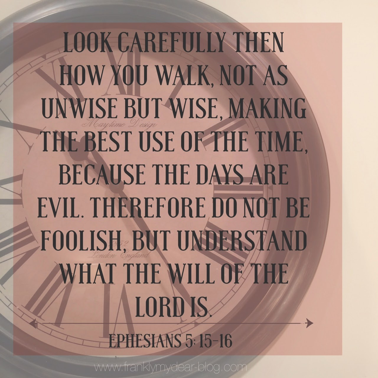 Time will Tell {Wednesday's Words}