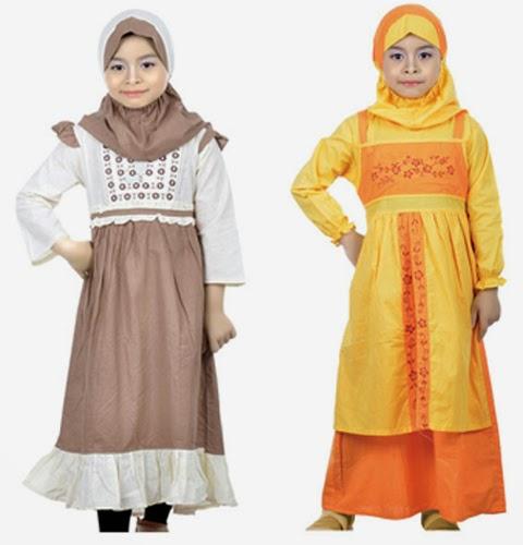 model baju muslimah anak