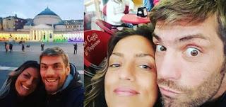 Clemente Russo e la moglie Laura Maddaloni