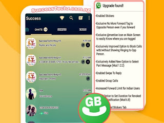 Download Latest GB Whatsapp V6.85 Apk