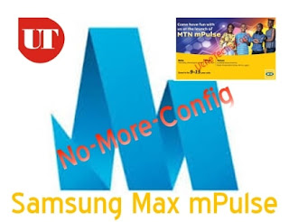 MTN mPulse browsing via Samsung Max