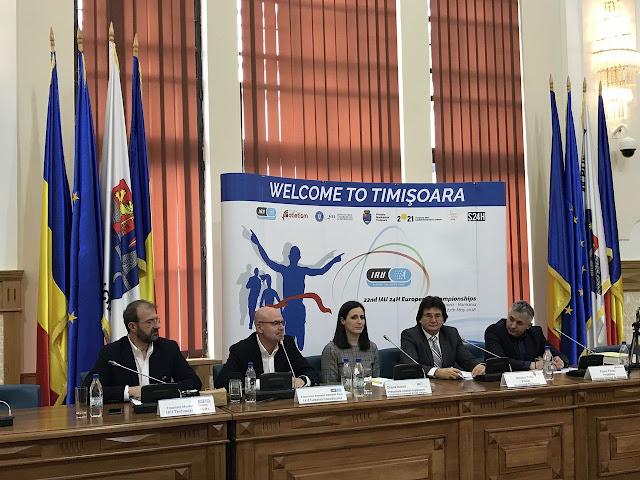 Reprezentantii IAU (Asociatia Internationala de Ultraatetism) dau unda verde pentru Campionatul European de 24 Ore Alergare care va avea loc la Timisoara