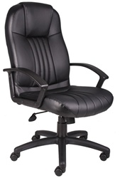 Boss Contemporary High-Back Chair