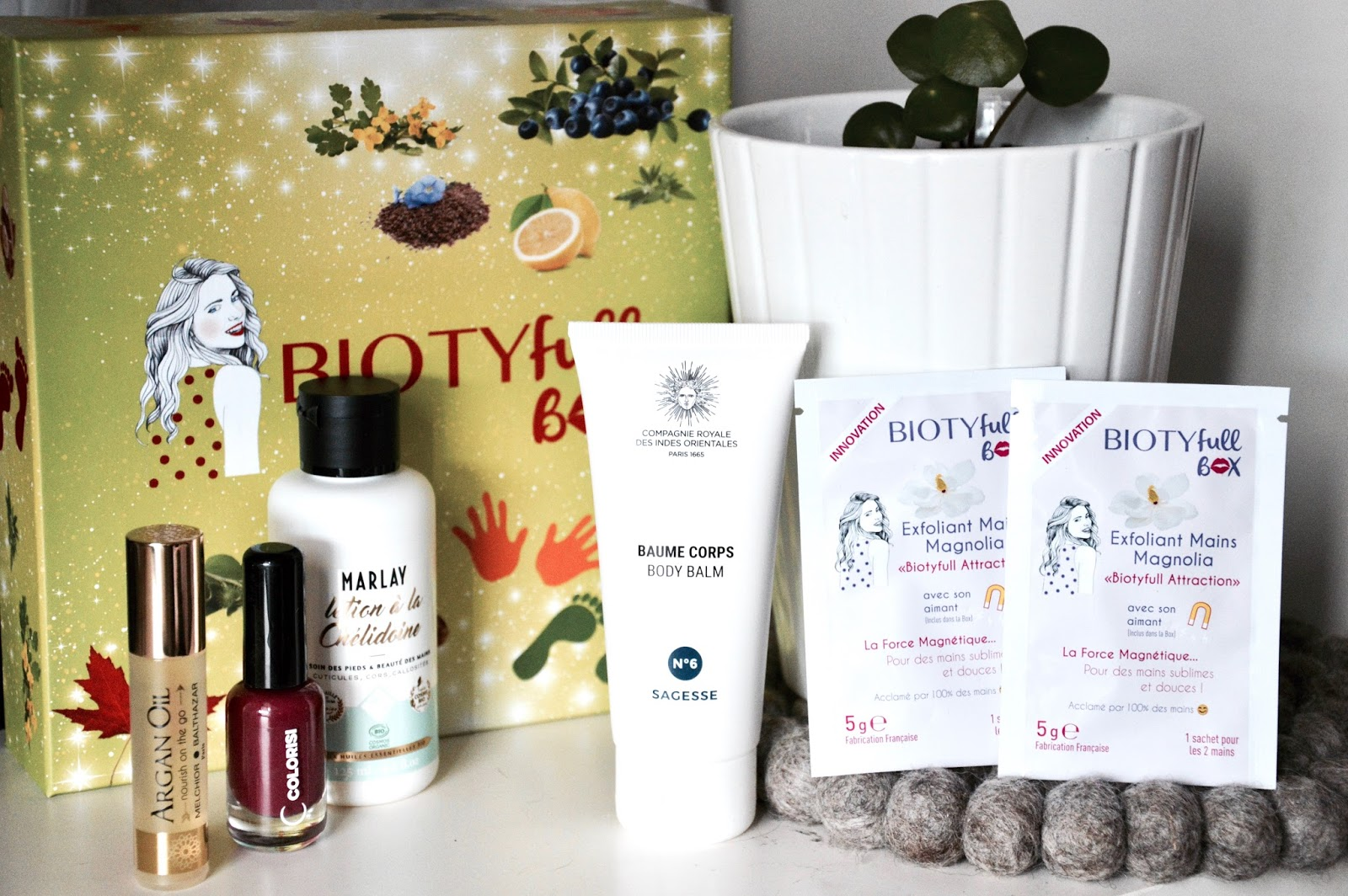 BIOTYFULL BOX : soins mains et pieds