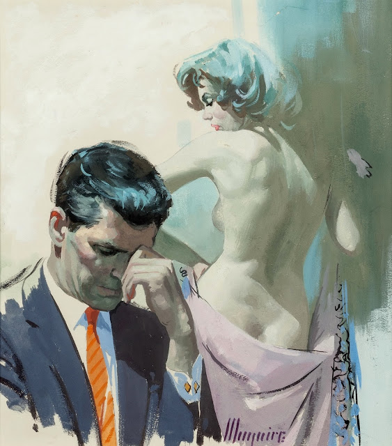 Robert Maguire - How Like a God, paperback cover, 1961