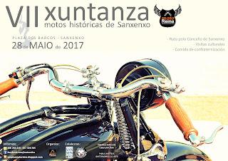 VII XUNTANZA MOTOS HISTÓRICAS DE SANXENXO
