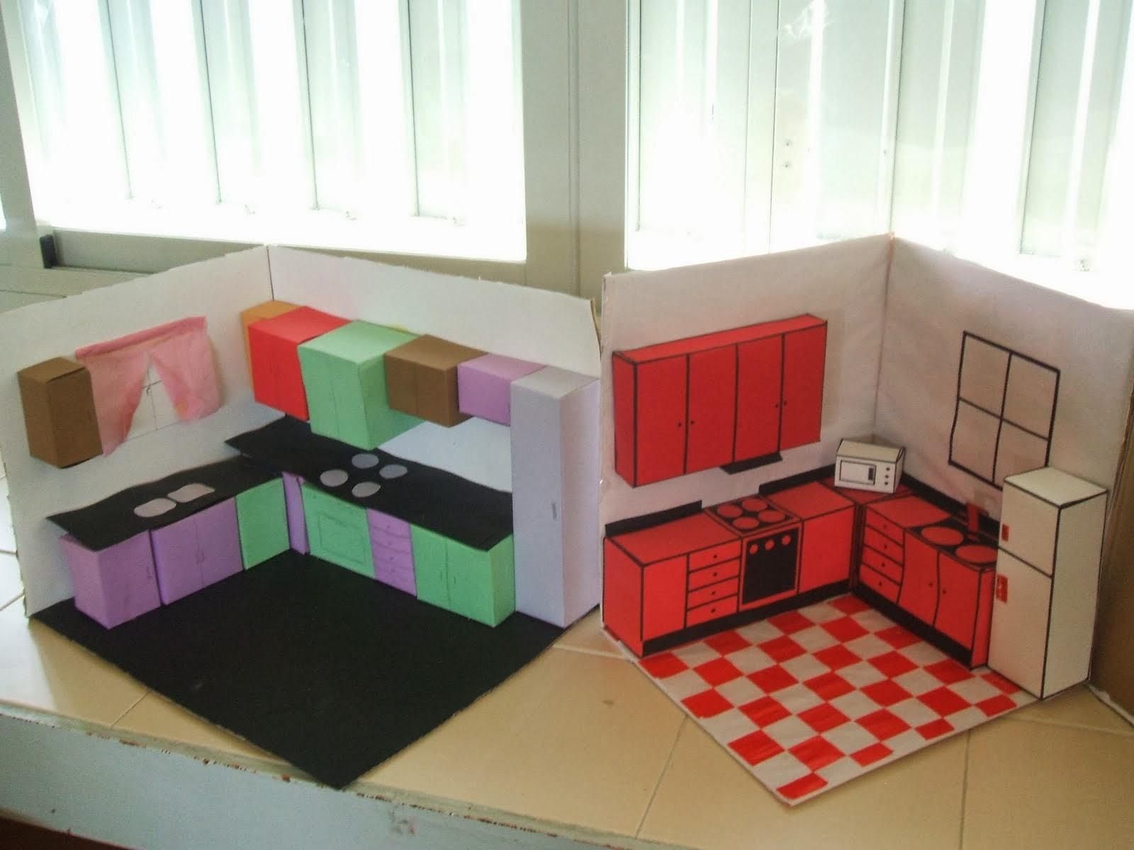 Tecno maqueta de mi cocina - Hacer una cocina ...