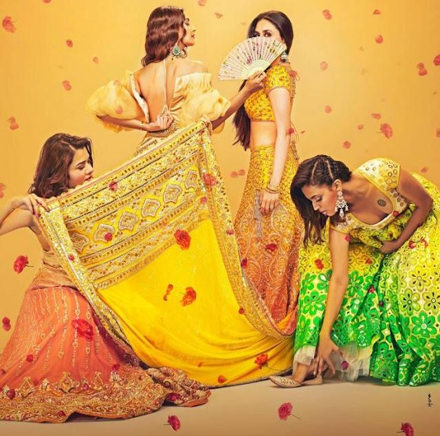 """MOVIES REVIEW : VEERE DI WEDDING चार लडकियों की बोल्ड,ड्रामा एंड ENTERTAINING फिल्म """"वीरे दी वेडिंग"""""""