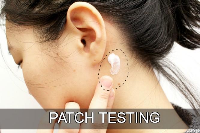 Hasil gambar untuk Apa itu Patch Test skin care