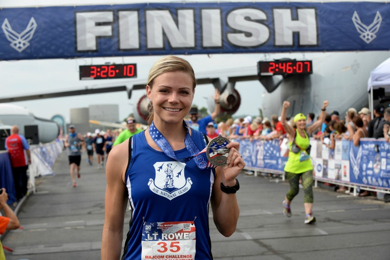 Air Force Marathon, MAJCOM Challenge, Air National Guard Marathon Team, 124 Fighter Wing