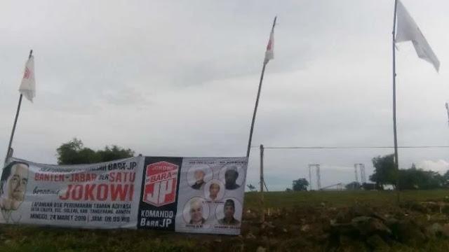 Tak Dapat Izin Polisi, Kampanye Jokowi di Tangerang Batal