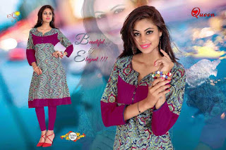 QUEEN SUNSHINE KURTIS KURTA TOPS WHOLESALER LOWEST PRICE SURAT GUJARAT