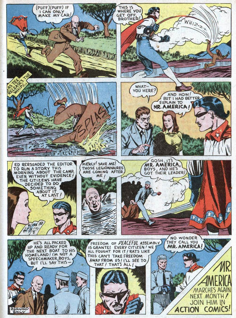 Read online Action Comics (1938) comic -  Issue #39 - 45